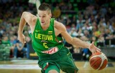 Puikiai antroje mačo pusėje žaidusi Lietuva pasiekė simbolinį revanšą prieš prancūzus