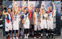 FIBA 3x3 pasaulio čempionais tapo serbai ir rusės