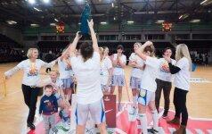 """""""Akvilės"""" lygos čempionės – Alytaus krepšininkės"""