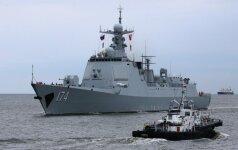 Kinijos karo laivai Baltijos jūroje