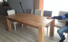 Darau Pats: ąžuolinis stalas už 300 eurų