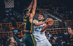 15 taškų pranašumą išbarstę lietuviai krito Europos čempionato ketvirtfinalyje
