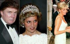 Donaldas Trumpas ir princesė Diana