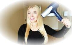 Stilistė Gražina apie gudrybę, kurią būtina žinoti norint turėti gražius ir ilgus plaukus VIDEO
