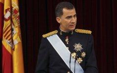 Ispanijos karalius pasirašė potvarkį dėl naujų parlamento rinkimų
