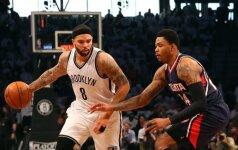 NBA atkrintamos varžybos: Bruklino klubas išlygino serijos rezultatą, Milvokio ir Portlando - sušvelnino