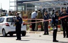 Izraelyje nukautas palestinietis, užpuolęs policijos pareigūnus