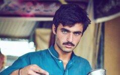 Pakistano turguje rastas vyriško grožio perlas
