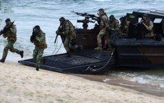 Ukraina pradėjo su NATO bendras karines pratybas