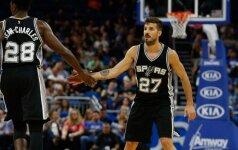 """N. Laprovittola prasiskynė kelią į NBA – žais """"Spurs"""" komandoje"""
