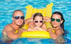 Atostogų užsienyje dilema: ką daryti susirgus vaikui