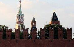 Rusija nesijaučia kalta dėl karinės įtampos