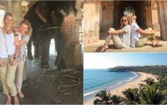 J. Bitinaitė apie gyvenimą Indijoje: tie patyrimai išliks ilgam