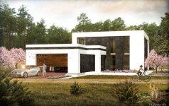 247 kv.m inovatyvus namas Vilniaus pakraštyje