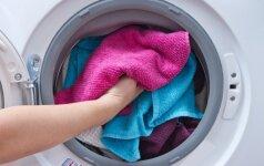 6 skalbimo klaidos, kurių geriau nedaryti