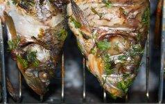 Kepam ant grotelių: 3 žuvies receptai