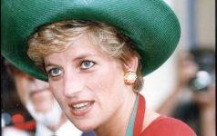 Lyg virusas plinta nuotrauka, kurioje prieš kelis mėnesius užfiksuota princesė Diana
