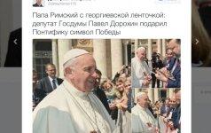 Rusijos pakiša Vatikane: kas atsitiko?