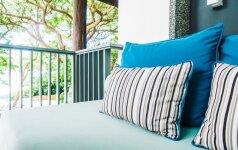 Architekto patarimai, kaip terasą paversti miesto poilsio oaze