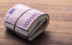 Trys vartojimo kreditų bendrovės sumokėjo baudas