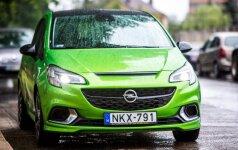 """""""Opel Corsa OPC"""" dėmesį patraukia tik geriau įsižiūrėjus"""