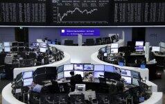 Investuotojai aktyviai kėlė bankų akcijas