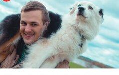 Kurčią šunį auginantis Andrius: gyvūnas nesupranta, kad jis yra kitoks