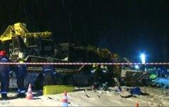 Autobuso avarijoje Rusijoje žuvo dešimt vaikų