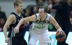 """""""Žalgiris"""" įveikė """"Brose Baskets"""" ekipą ir Eurolygos TOP-16 etape žais penktus metus iš eilės"""