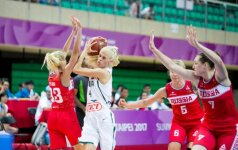 Lietuvos krepšininkės universiadoje nusileido ir rusėms
