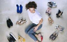 Stilistė apie batus: jiems nėra netinkamos figūros