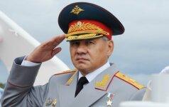 S. Šoigu: Rusijos kariuomenės prioritetas – vystyti strategines branduolines pajėgas
