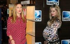Būsimų mamų stiliaus dvikova: kuri atrodo gražiau?