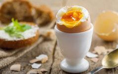Specialistai po 30 metų pagaliau išteisino minkštai virtus kiaušinius