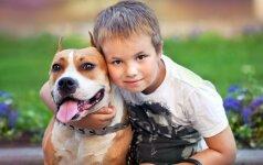 Iki nelaimės – vos kelios sekundės: šeimą nuo gaisro išgelbėjo šuo