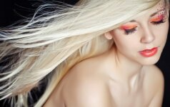 Švarūs plaukai jų neplaunant Pataria stilistė