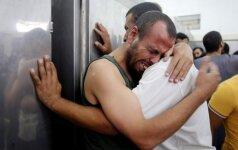Izraelyje kalinami palestiniečiai baigė 40 dienų trukusį masinį bado streiką
