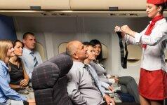 20 dalykų, kuriuos skrydžių palydovai iš tiesų norėtų pasakyti keleiviams