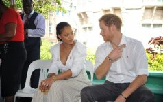 Prince Harry ir Rihanna