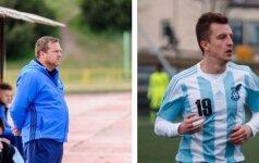 Donatas Vencevičius ir Kirilas Aleksijanas / Foto: fkjonava.lt