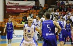 Klubas su lietuviais Rumunijoje varžovus sutriuškino net 57-ių taškų skirtumu