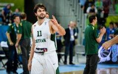 L. Kleiza užminė mįslę Lietuvos krepšinio federacijos vadovams ir rinktinės treneriams