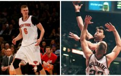 Įsisiautėjęs K. Porzingis traiško Sabo rekordus NBA
