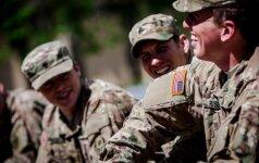 Karinėms pratyboms į Moldovą keliaus 200 JAV karių
