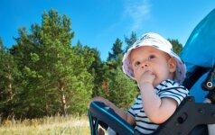 Nepaverskite kūdikio vasaros atostogų įkaitu