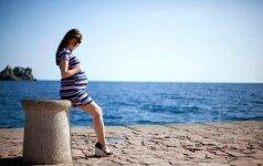 Nėščioji tiesiog norėjo nusifotografuoti prie jūros, tačiau likimas iškrėtė pokštą