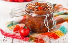 IŠBANDYK: pati skaniausia pomidorų mišrainė žiemai