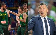 Š. Jasikevičiaus šūvis kritikams: negalvoju, kad Lietuvos krepšiniui yra blogai