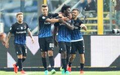Atalanta futbolininkai