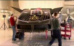 Izraelyje pagamintas automobilio dydžio bepilotis skraidantis aparatas